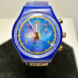 Vintage 1996 Swatch Watch SPEZIAL JOHNSON SCZ400